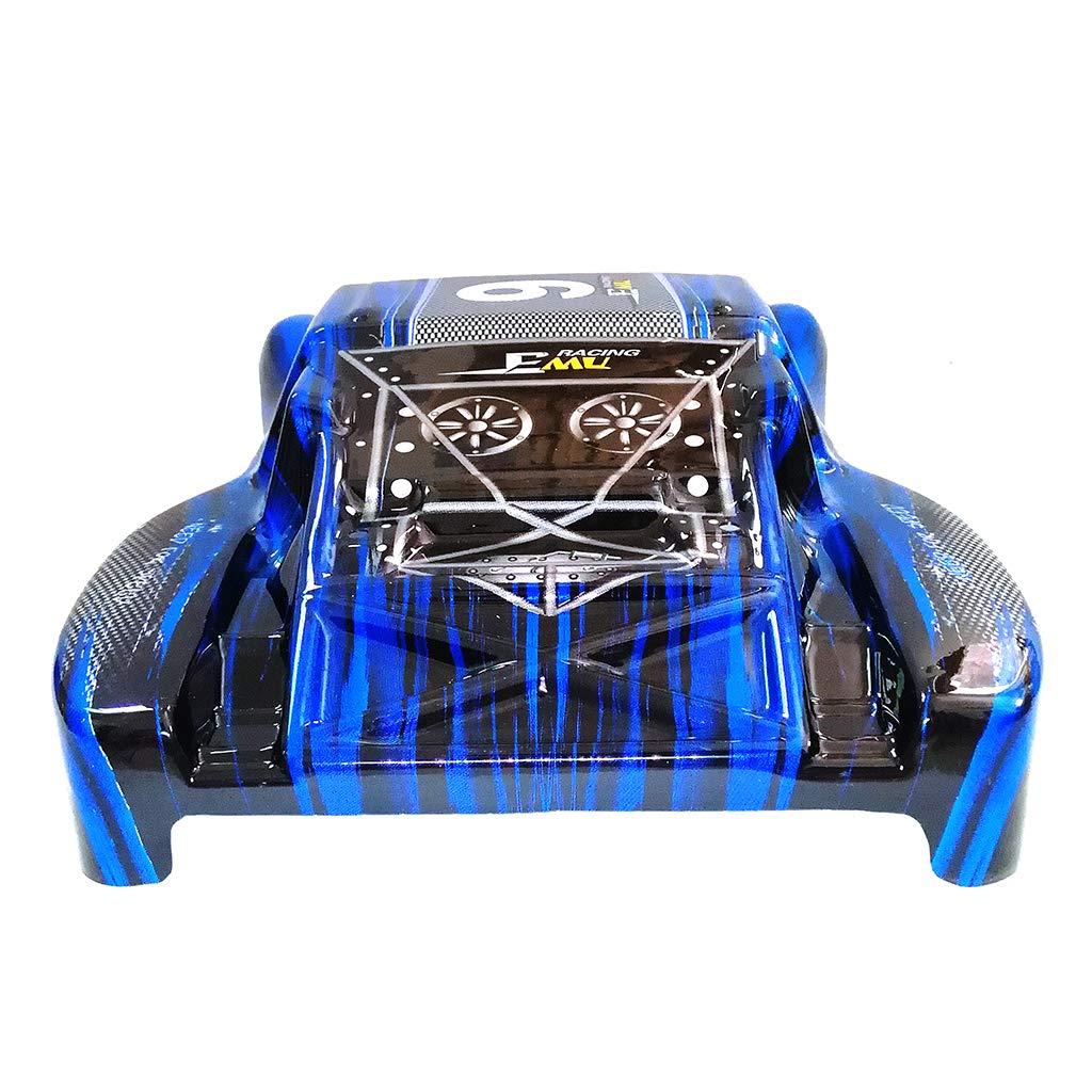 Red Aiyouxi Car Shell Surface Body M0280 for HQ 727 PVC 1//10 4X4 Traxxas Slash Case