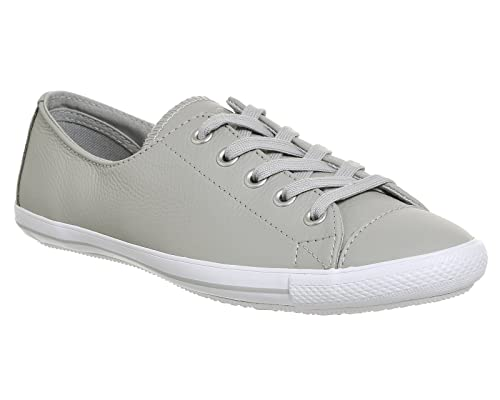 Converse Ct Lite 2 Trainers Ash Grey Leather Exclusive - 3.5 UK