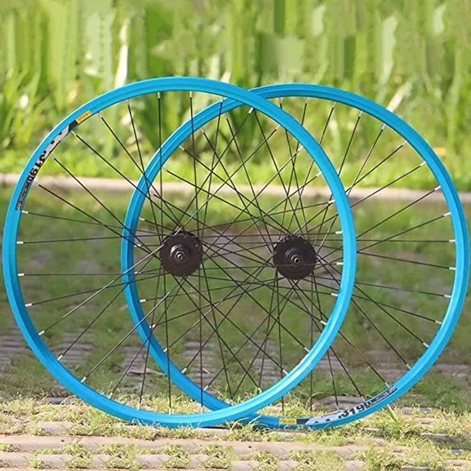 "Khe Fixie Wheelset 700c 28 /"" Inches Doppelkammerfelge 32 Hole Silver"