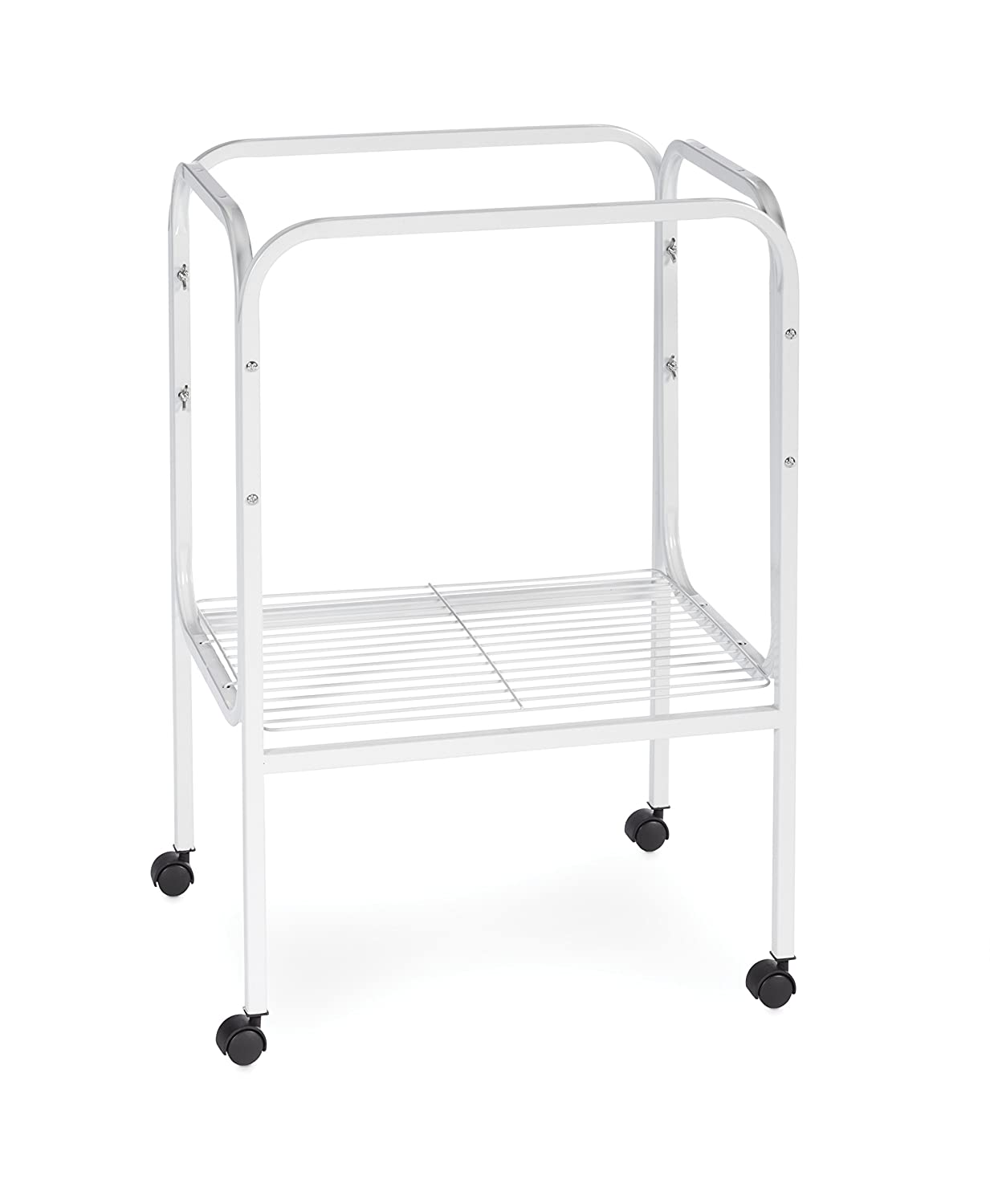 Prevue Pet Products SP444W Bird Cage Stand with Shelf, White Inc.