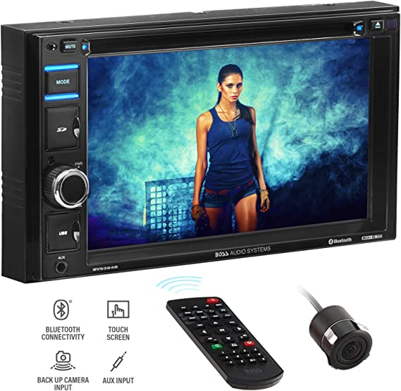 BOSS Audio Systems BVB9364RC Car DVD Player - Double Din