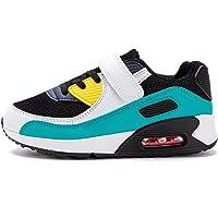 Zapatillas Niño Unisex Sneakers Niña Zapatos Deporte Running Calzado Niños Casual Transpirables Antideslizante Negro…