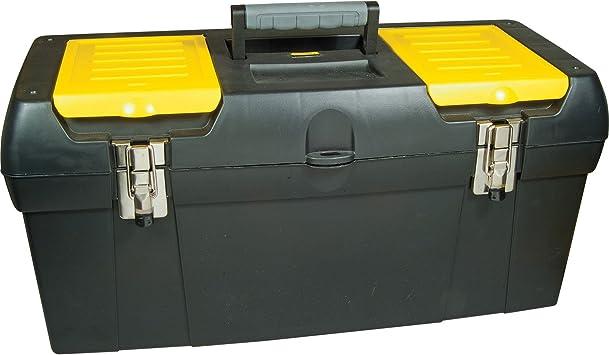 Avanzada Stanley mango suave caja de herramientas con bandeja ...