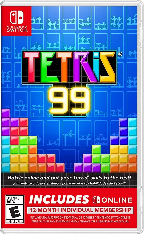 Amazon.com: Tetris 99 + 12 Month Nintendo Switch Online ...