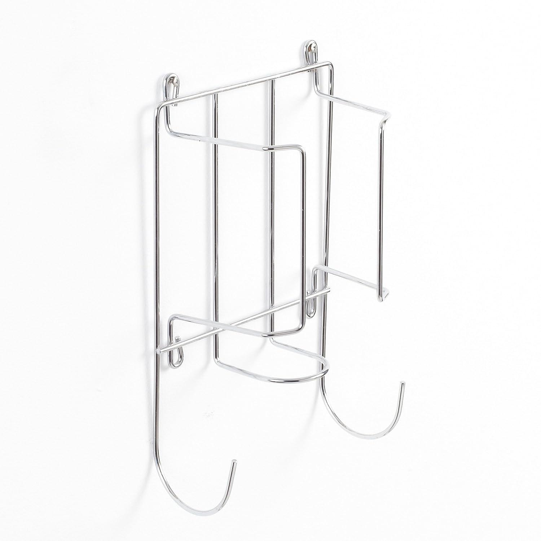 Neotechs® staffa di supporto per ferro e asse da stiro, da appendere a una parete, un armadio o alla porta, per tenere in ordine.