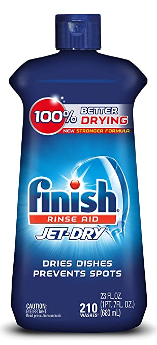 Amazon.com: Finish Jet-Dry Rinse Aid, 23oz, lavavajillas ...