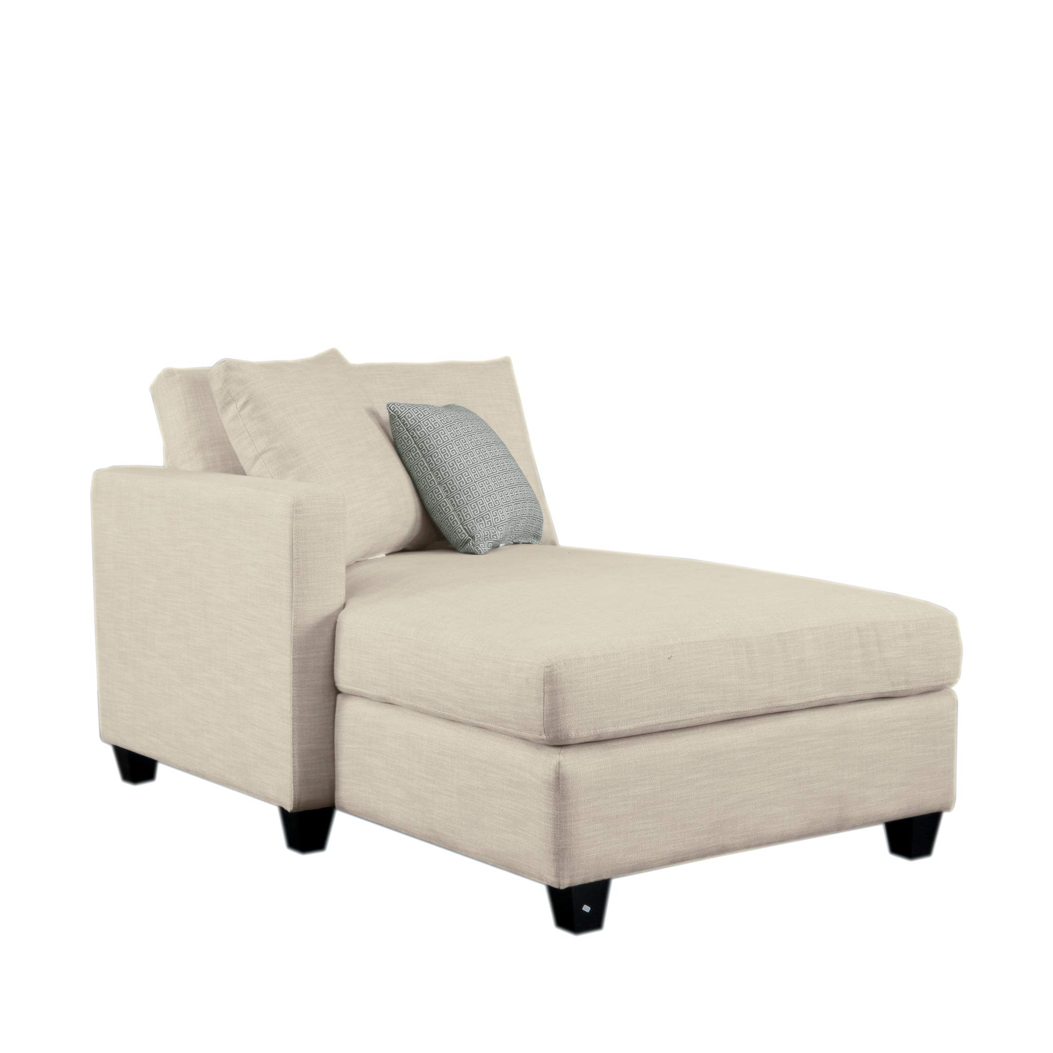 Homelegance Southgate Modular Sectional Unit, Left Side Chaise, Beige by Homelegance