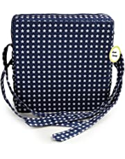 Haolong Adjustable Kids Baby Toddler Infant Harness Cushion Dining Chair On the Go Seat Highten Pad Travel Storage Chair Pads (Navy)