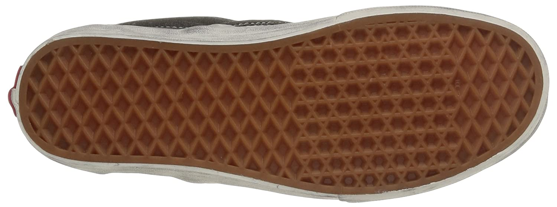 Vans U Erwachsene Classic Slip on Overwashed, Unisex Erwachsene U Sneakers Schwarz (Overwashed/schwarz/Check) 176453