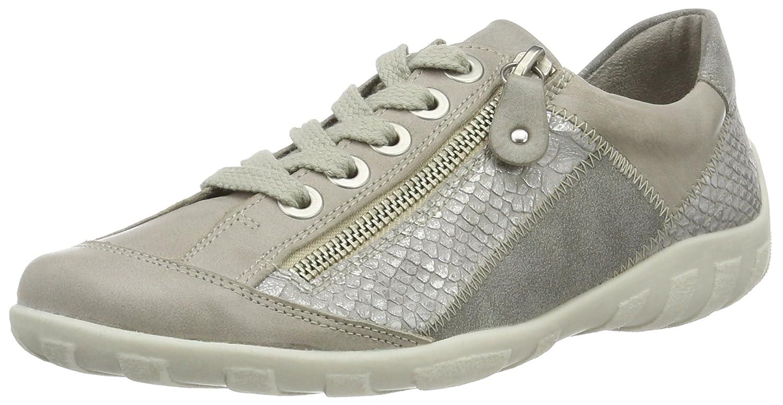 Remonte R3419, Zapatillas para Mujer 41 EU|Gris (Ice/Shark)
