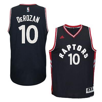 DeMar DeRozan Toranto Raptors #10 NBA Youth Black Swingman Alternate Jersey