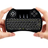 Amazon Price History for:Lynec H9 Blacklit 2.4GHz Mini Wirless Touch Remote Keyboard Mouse with Touchpad for PC,iPad,Xbox 360,PS3,Raspberry Pi 3 ,Google Android TV Box,HTPC,IPTV