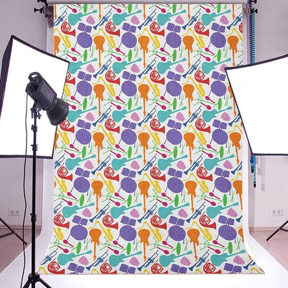 7x10 FT Animal Vinyl Photography Background Backdrops,Fox and Hare Friendly Forest Wildlife Characters Hugging Each Other Background for Graduation Prom Dance Decor Photo Booth Studio Prop Banner