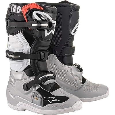 Alpinestars Unisex-Adult Tech 5 Boots Black//Red Sz