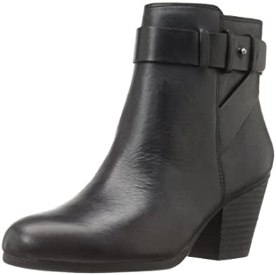Aerosoles Womens Inevitable Ankle Bootie Black Leather