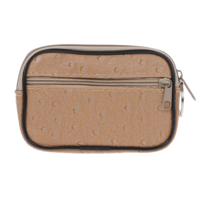 1PC Soft Men WoMen Card Coin Key Holder Zip Change Pouch Wallet Pouch Bag Purse Gift