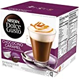 NESCAFE - DOLCE GUSTO Pods - Chococino Caramel - 16 Capsules x Pack of 4 Boxes