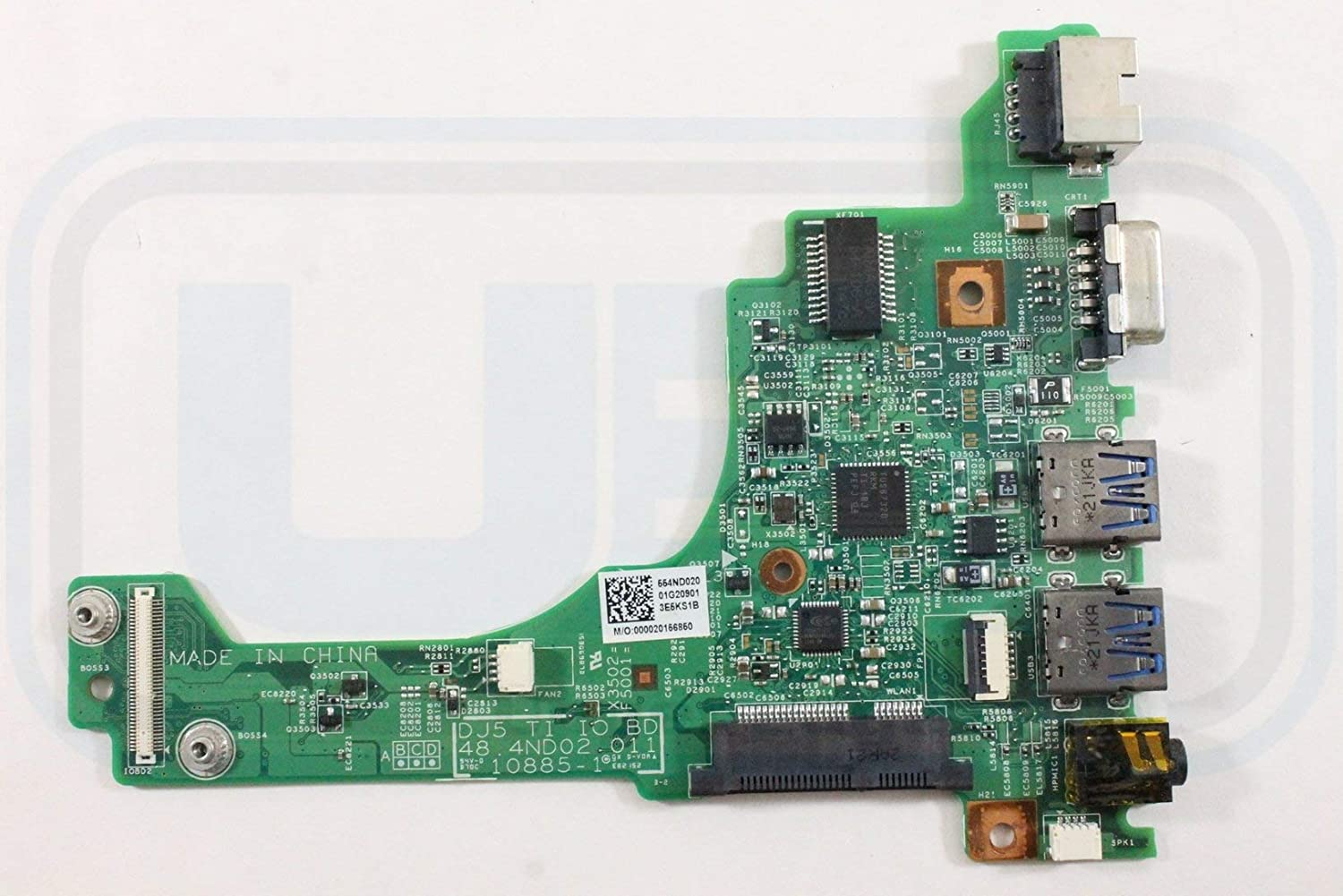 Dell Vostro V131 RX7N5 Audio Ethernet USB 3.0 VGA Board 48.4ND02.011