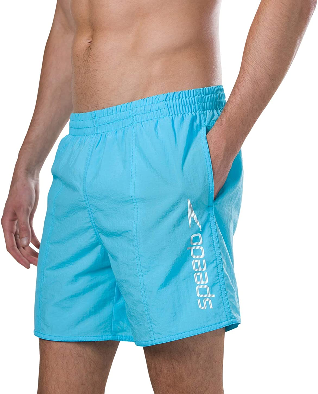 Speedo Men's Scope 16-Inch Water Shorts Aqua Splash