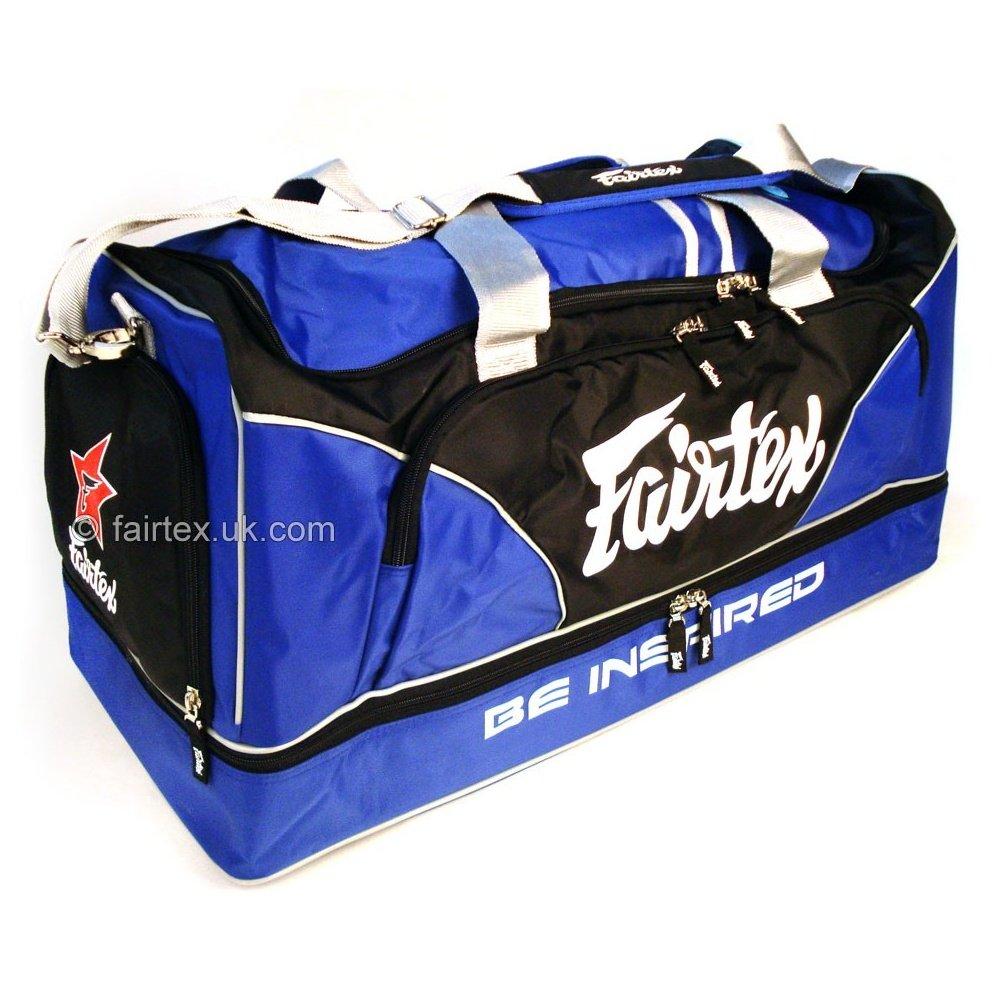 Fairtex Heavy Duty Duty Duty Gym Bag - Blau B00N85GBV6 Schultertaschen Angemessene Lieferung und pünktliche Lieferung deb0d1