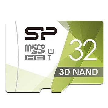 Silicon Power - Tarjeta de Memoria microSDHC UHS-1 de 32 GB (FBE-SU032GBSTHBU1V1GEU)