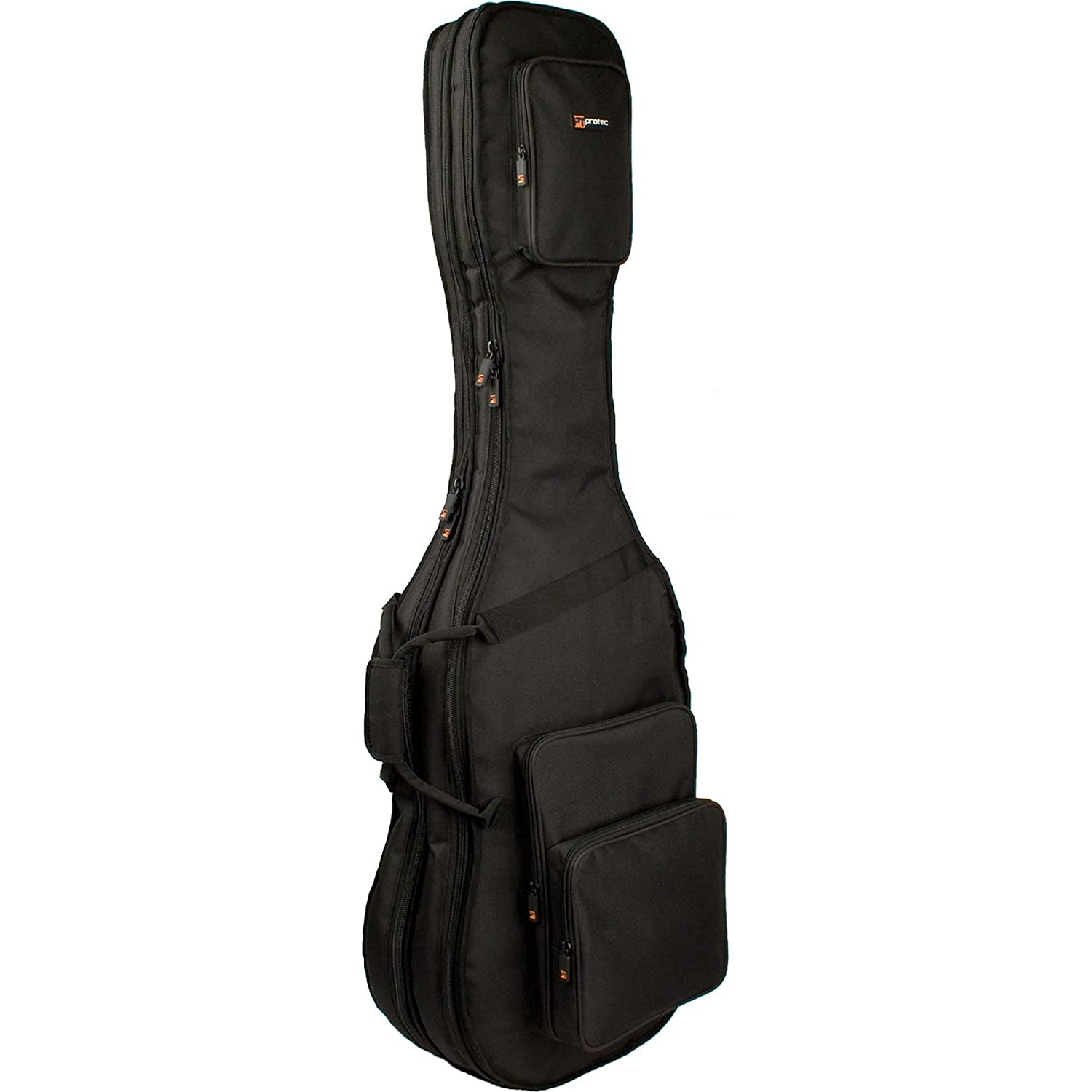 Protec CF233DBL Double Bass Guitar Gig Bag-Gold Series