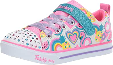 Skechers Kids Girls LITE-Sparkle Friends Sneaker