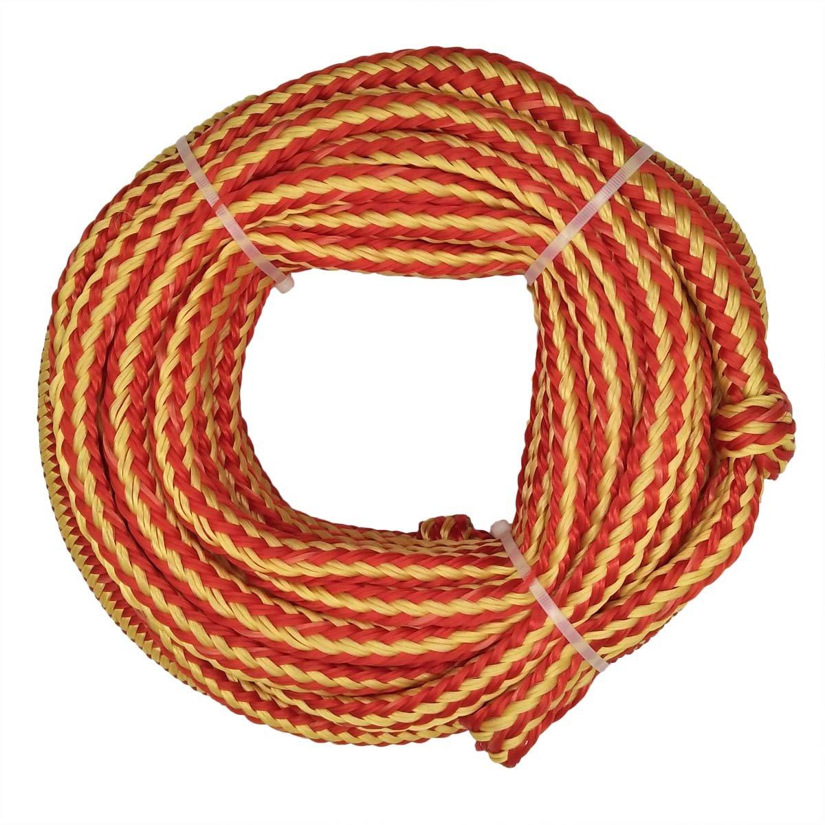 Bungee Tube Tow Rope, 18,3m, arancione 3m Besda