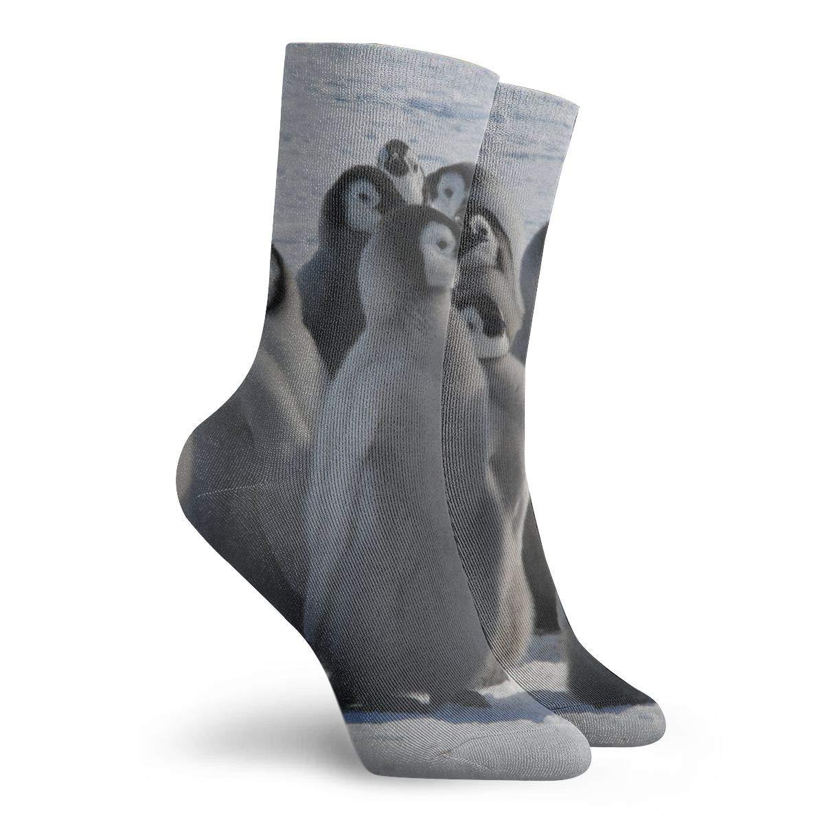 Kids Women SuBenSM Cute Baby Penguins Ankle Socks Casual Cozy Crew Socks for Men