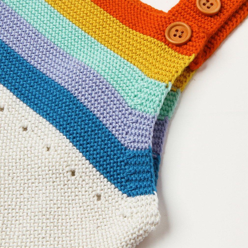 La vogue Peleles de Crochet para Bebé Niñas Niños Elástico Mono sin Mangas(0-18 Meses): Amazon.es: Ropa y accesorios