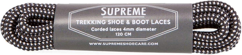 Supreme Trekking Schuh /& Stiefel Schnürsenkel Robust und Langlebig Premium