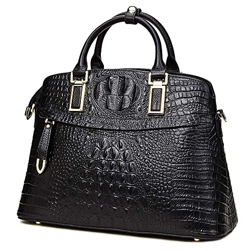 Genuine Leather Top-Handle Bags for Women