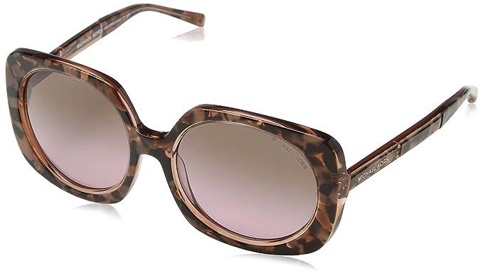 094dad4af2 Michael Kors MK2050 325114 55mm Pink Tort Graphic   Brown Rose Gradient  Sunglasses