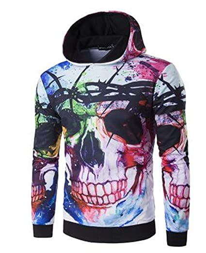 Matterin Christiao New Mens Pullovers Fashion 3D Hoodies Casual Sweatshirts Chandal Sudaderas Hombre Fitness Hoodies at Amazon Mens Clothing store: