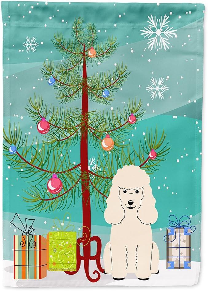 Carolines Treasures Golden Doodle 2 Winter Snowflakes Christmas Stocking 11 x 18 Mulitcolor