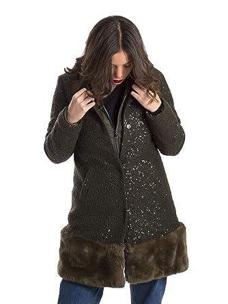 Et Green 40 Manteau F67003t9956 Vêtements Jo Liu Femmes fxPAwzq7