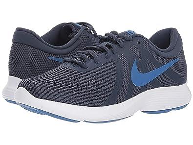 77a1a8fe58f71 Nike Women's Revolution 4 Obsidian/Mountain Blue Running Shoes (908999-403)