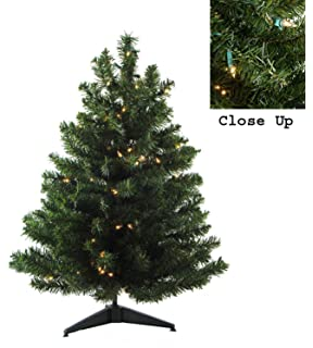 3 pre lit natural two tone pine artificial christmas tree clear lights - 3 Foot White Christmas Tree