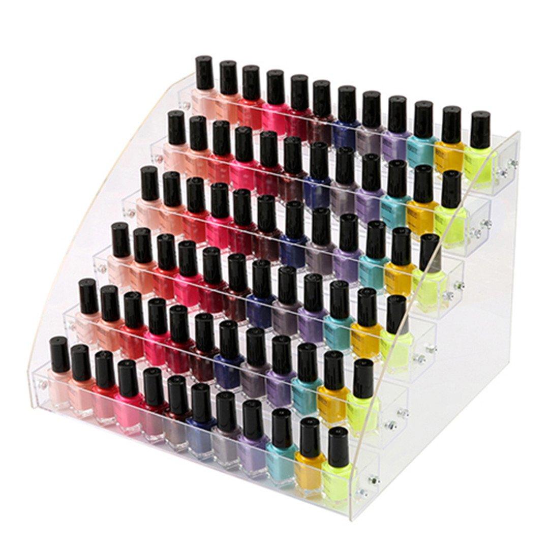 Amazon.com: Organizador de esmalte de uñas acrílico, 2 – 3 ...