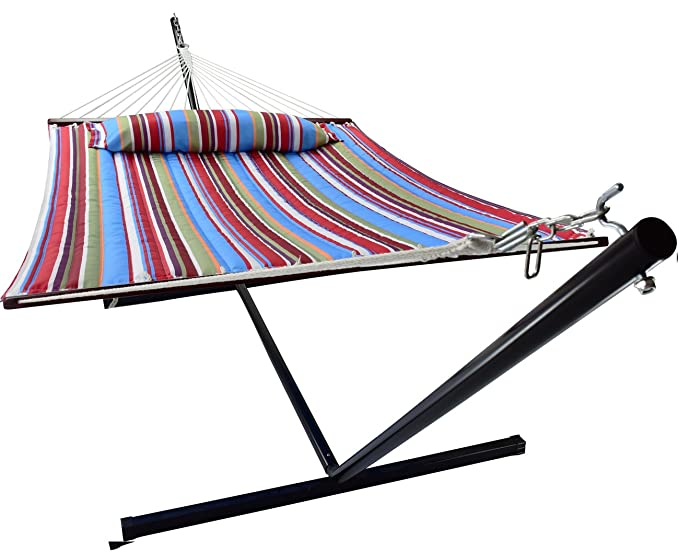 Sorbus Double Hammock – The Hammock with a Coated Steel Construction