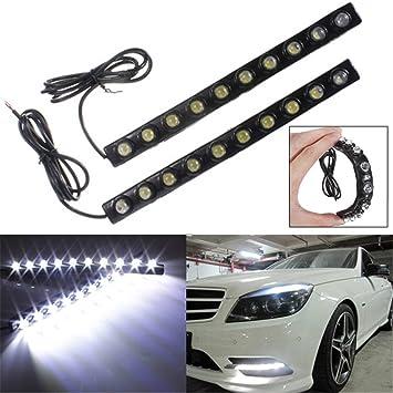10 Auto KFZ T10 wei/ß LED Standlichter 12-24V DC Energiesparend lange Lebensdauer Des Mall