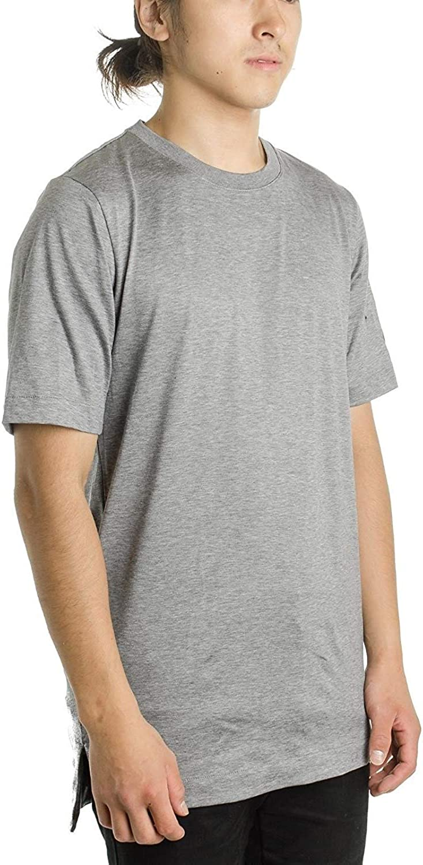 Nike Mens Dry Futura Bonded Sportswear T-Shirt Carbon Heather//Black AH5473-091