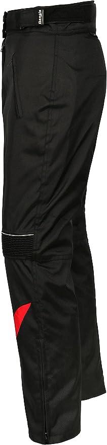 Ledershop Online Bangla 1711 Damen Motorradhose Tourenhose Textil Cordura 600 Schwarz Rot Xl Auto