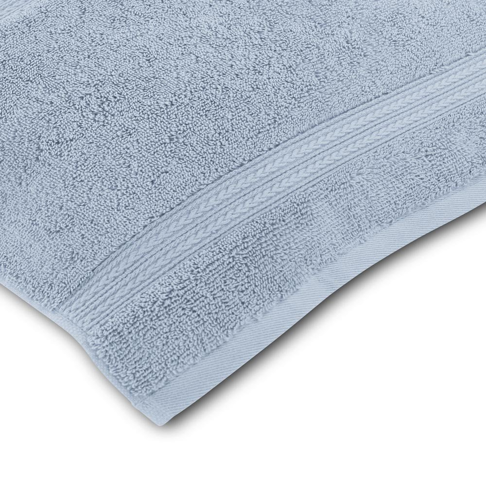 Luxor Linens New Arrival Bliss Collection Egyptian Cotton Classic 6-Piece Towel Set - Smoke Blue - with Gift Packaging by Luxor Linens (Image #4)