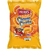 Herrs Cheese Curls 184g x 1 Pack Flavoured Herr's Cheese Curls US Snacks