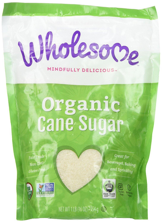 Wholesome Organic Cane Sugar 16 oz