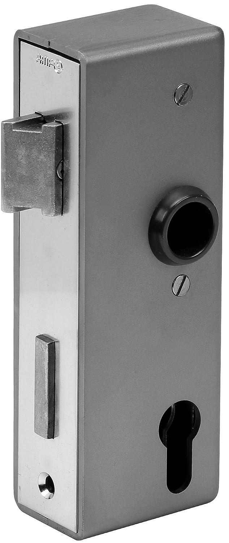 AMF 141U-10629 Caja de Cerradura, Brillante, Plata