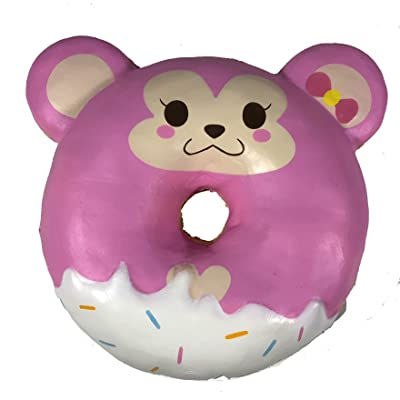 Puni Maru Jumbo Animal Donut with Display Box Featuring Cheeka: Toys & Games