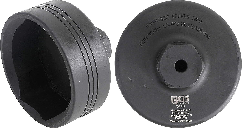 BGS 5413 f/ür SCANIA Vorderachse Radkapseln- und Achsmuttern-Schl/üssel 8-kant /Ø 80 mm
