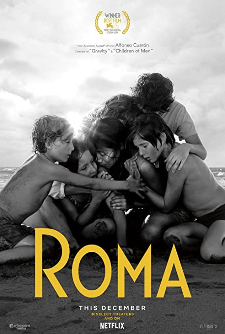 Image result for roma film poster